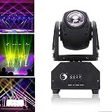 Uking DMX512 50W Etapa Luz Giratoria Móvil Cabeza RGBW(4 en 1) Color Control de Sonido...