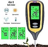 YZXZM 4 IN 1 Soil Tester der Feuchtigkeit Digital-Meter-Bodenfeuchteüberwachung Hygrometer...