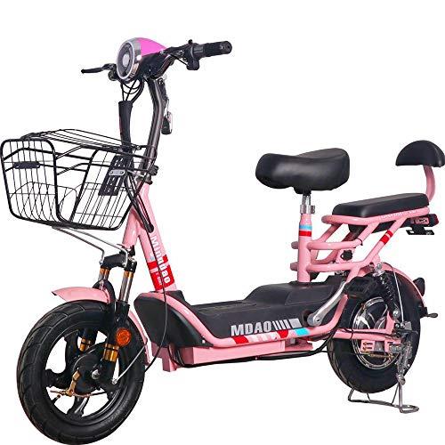 Oaimk Patinetes Scooter de Movilidad eléctrica de 2 Ruedas para Adultos y...