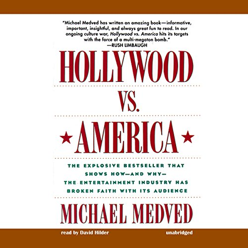 Hollywood vs. America audiobook cover art