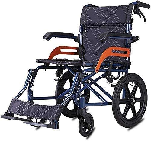 Busirsiz Cinturón plegable de aluminio para silla de ruedas ligero con cinturón de seguridad ajustable para personas mayores y discapacitados