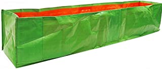 YUVAGREEN Long UV Treated Terrace Gardening Green Grow Bags for Leafy Greens and Vegetable with Side Support (Side Pocket...