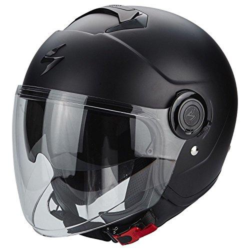 Scorpion Motorrad-Helm Exo-City, Größe M, 83-100-10-04, Schwarz