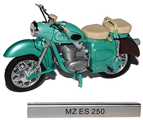 Unbekannt MZ ES 250 Grün DDR Atlas Collection 1/24 Modellcarsonline Modell Motorrad