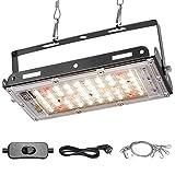 CXhome LED Pflanzenlampe Wachstumslampe LED Innen mit vollem Spektrum & rotem & Samsung LEDs...