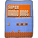 bioWorld Nintendo Super Mario Bros Retro Fleece...