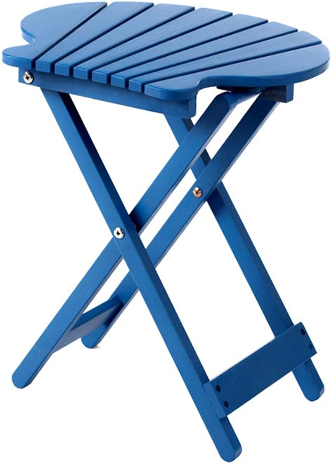 Flower Stand, Solid Wood Foldable Plant Stand Multi-Level Indoor Balcony Floor Fleshy Flower Pot Rack (color   bluee)