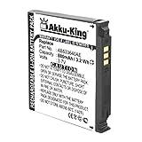 Akku-King Akku kompatibel mit Samsung AB533640C, AB533640AE, AB533640CE, CU - Li-Ion 880mAh - für SGH-G600 J400 F330 G400 Soul S3600 - Li-Ion