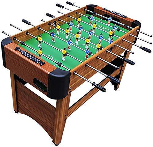 8-Bar Große Tabellen-Fußball-Maschine Startseite Erwachsene Kinder Interaktiv Tischfußball Set Holzspielzeug Freizeit Unterhaltung Eltern-Kind-Interactive Football Table Tischkicker dongdong