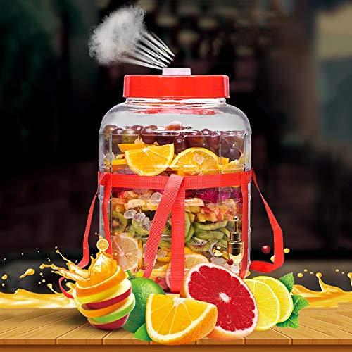 HYXQYJP 25L grote capaciteit drank drank drank dispenser met lek gratis koper spigot en afdichting dop, voor partijen/bruiloft/horeca/evenementen