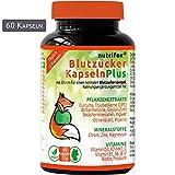 Nutrifox 60 Blutzucker Kapseln - Pflanzenextrakte