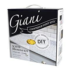 Low VOC, low odor, water-based acrylic paint for transforming outdated countertops without costly replacement Fun, easy DIY project complete with step-by-step instructions. The new minerals will allow you to easily create a brighter white granite loo...