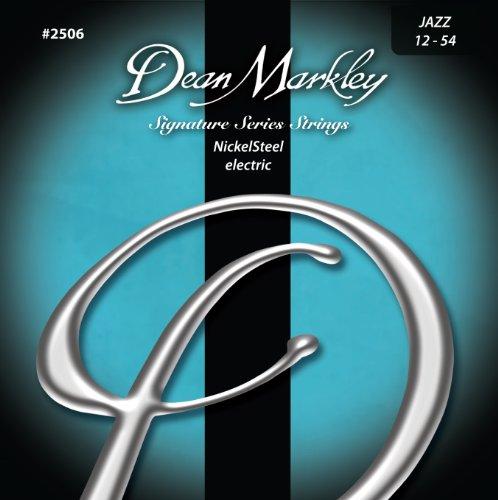 Dean Markley 2506 Jazz Signature Series Cuerdas para guitarra eléctrica (0,12-0,54) 6...