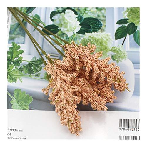 JiaQinHe Restos 6 Piezas/Bundle decoración de la Pared Planta de la Flor Artificial del Ramo de Lavanda PE Material, Manual de Bricolaje floreros for el hogar Nunca (Color : Champagne)
