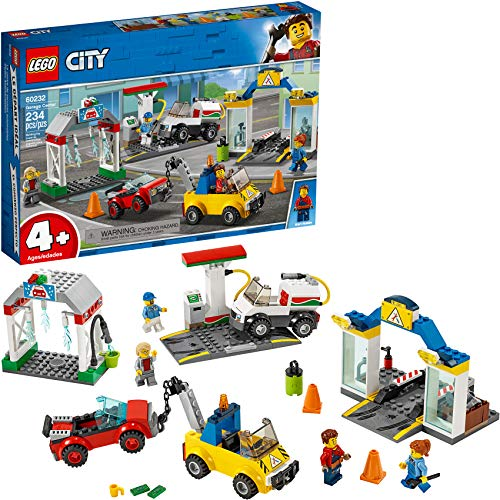 LEGO City Garage Center 60232 Building Kit (234 Pieces)