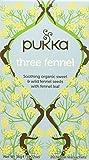 Pukka Tè Three Fennel Tisana, 20 Filtri, 36g
