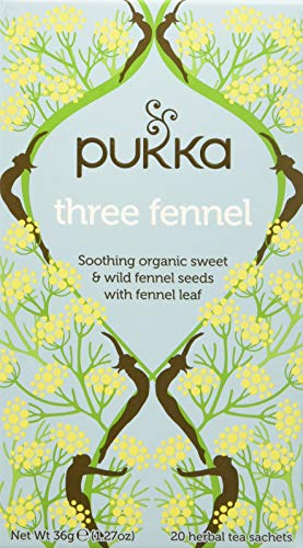 Pukka Three Fennel - Tisana 20 filtri