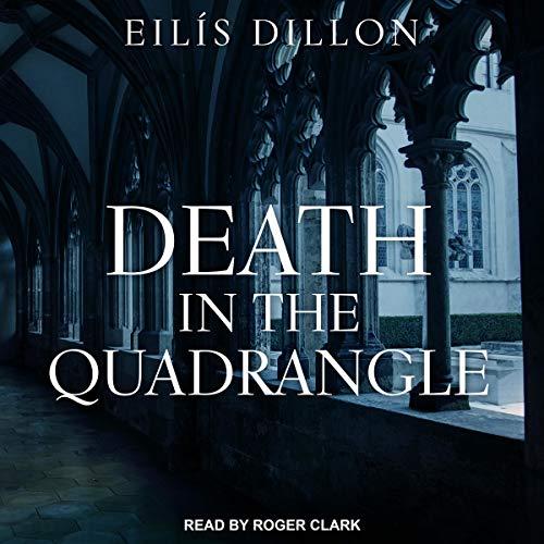 Death in the Quadrangle audiobook cover art