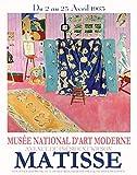 WallBuddy Matisse Poster Matisse 1963 Museum Poster Matisse