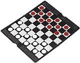 Philos 6532 - Dame, Reisespiel, magnetisch, Strategiespiel -