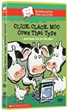 Scholastic Video Collection - Click, Clack, Moo Cows That Type.... & More Fun On The Farm [BONUS : 2 FULL-LENGTH BONUS STORIES & A SPANISH VERSION Of Click Clack Moo] -Narrated By Randy Travis-