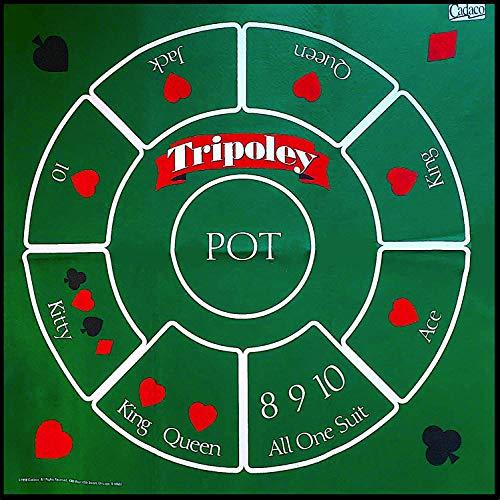 Cadaco Felt Tripoley Game Table Mat