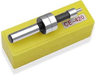 HELYZQ CE-420 aponta na haste 10 mm maquinário de cerâmica no meio da haste excêntrica, separador magnético