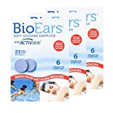 BioEars Soft Silicone Earplugs w...
