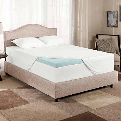Novaform 3' Pure Comfort Memory Foam Mattress Topper Twin 75 x 39 inches