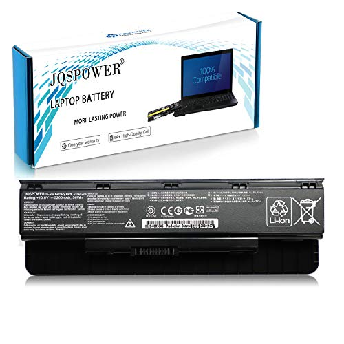JQS A32N1405 Batteria Portatile per ASUS G551 G58JK G771 G771JK G771JM G551JK G551JM N551 N751 GL551 GL771 GL551JM GL551JM-DH71 serie [A+++ 6 celle, 5200mAh 56Wh 10,8V] - 12 Mesi Garanzia