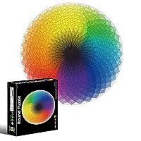 大人1000個のジグソーパズル、想像力シリーズ - 大人の子供のためのパズル1000ピースパズルDIYゲームのおもちゃギフト,Rainbow