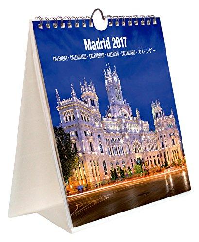 Grupo Erik Editores Madrid - Calendario sobremesa combi 2017, 16.5 x 18 cm