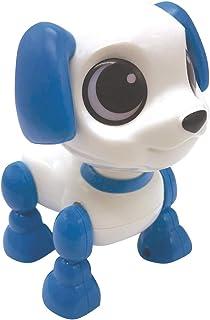 LEXIBOOK Power Puppy Mini-Mi pequeño Perro Robot con Sonidos, música, Efectos de luz, repetición de Voz y reacción a los s...