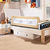 Bed Rail for Toddlers - 59 inches (1.5M) Extra Long Swing Down Bedrail