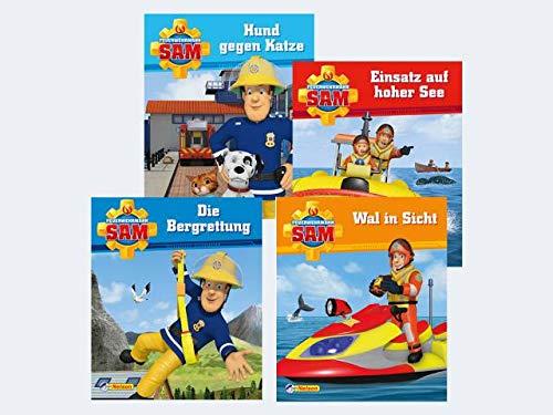 Minibuch Display 24er Feuerwehrmann Sam 5-8 - Liefermenge 24 Stück