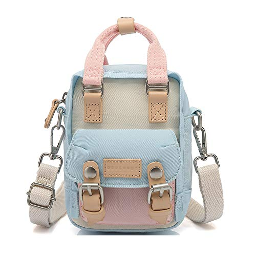 YUIOP Rucksack Frauentasche Mini Leinwand Umhängetasche Handtasche