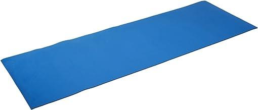 silly.con Fit & Fun 14012 - fitness- en yogamat, blauw, van EVA - schuim, ca. 173 x 61 x 0,5 cm