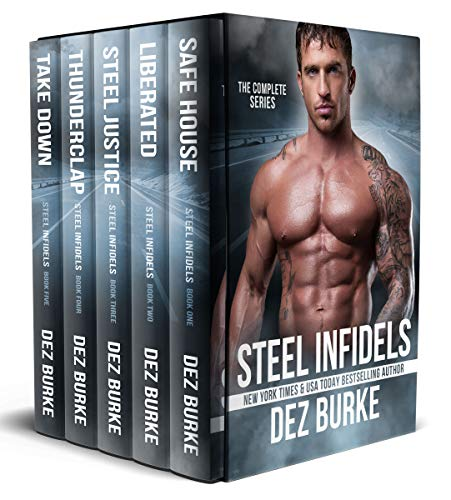 Steel Infidels Complete Series Box Set (MC Romance Volumes 1-5): Motorcycle Club Romance Series