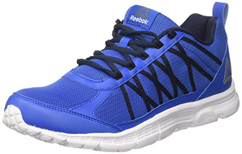 Reebok Speedlux 2.0, Zapatillas de Trail Running Hombre, Azul (Awesome Blue/Collegiate Navy/White/Pewter), 41 EU