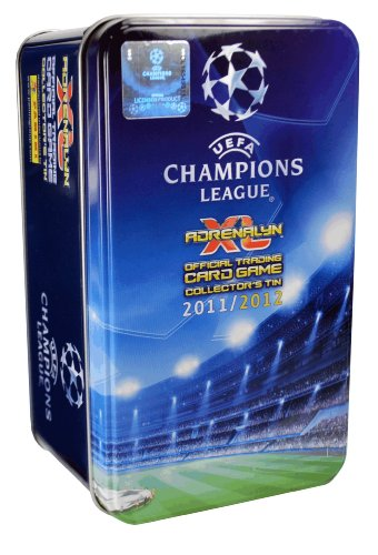 Panini Adrenalyn XL Champions League 2011/2012 Collector's Tin (10 Booster+ 1 limited foil card)