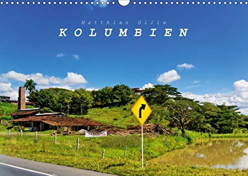 Kolumbien (Wandkalender 2021 DIN A3 quer)