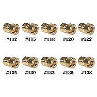 GTSpeed CVK 112/115/118/120/122/125/130/132/135/138 キャブレターメインジェットキット