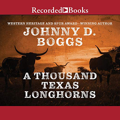 Couverture de A Thousand Texas Longhorns