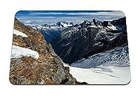 22cmx18cm マウスパッド (山降下ピークの高さブリティッシュコロンビアカナダ) パターンカスタムの マウスパッド