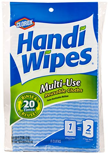 Handi Wipes Reusable Cloths, Extra Large 6 cloths