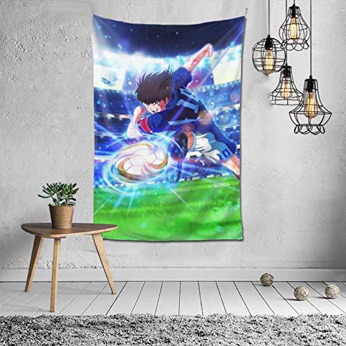 Tapiz Capitán Tsubasa Oozora para colgar en la pared, tapiz para dormitorio, hogar, decoración de pared, tapiz, cortina de puerta, 152,4 x 101,6 cm