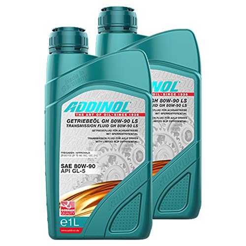 Addinol 2X Getriebeöl Gear Transmission Oil Fluid Lubricant 80W-90 Gh 80 W 90 Ls 1L 74301007