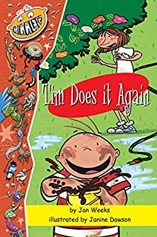 Tim Does It Again: A Tim and Mandy Book (The Adventures of Tim and Mandy 1) by [Jan Weeks, Reading Eggs, Janine Dawson]