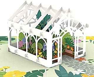Liif Mother's Day Greenhouse Pop Up Card, 3D Greeting Cards For All Occasions, Birthday, Valentines Day, Mother's Day, Father's Day, Wedding Card, Anniversary Card,for Her, Moms, Wife