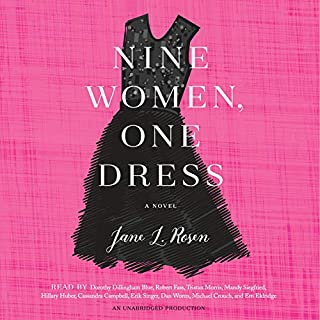 Nine Women, One Dress audiobook cover art